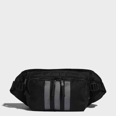 Hiking Black Amplifier Crossbody Bag