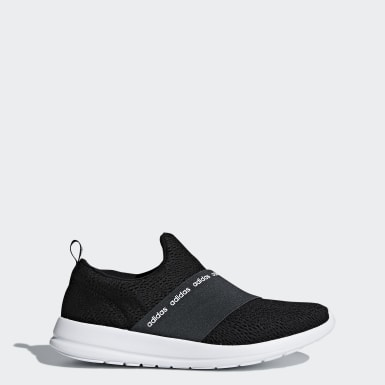 Women Sport Inspired Black Cloudfoam Refine Adapt Shoes
