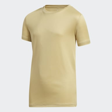 Youth Training Beige Tee