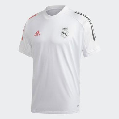 белый Тренировочная футболка Реал Мадрид