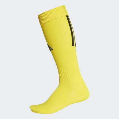 Football Yellow Santos 18 Socks