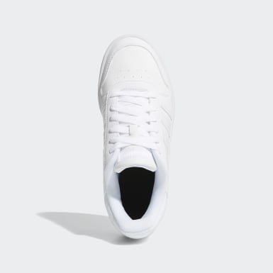 Tenis Hoops Mid 2.0 Blanco Niño Essentials