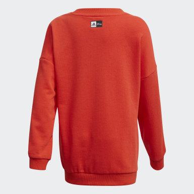 Sweatshirt Mickey Mouse Bordô Rapazes Treino