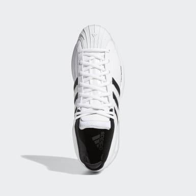 Chaussure Pro Model 2G Blanc Hommes Basketball