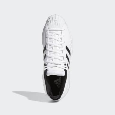 Männer Basketball Pro Model 2G Schuh Weiß