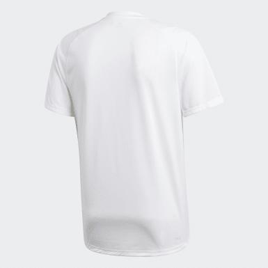 Men's Training White FreeLift Badge of Sport Graphic Tee