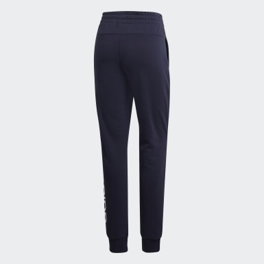 Pantalon Essentials Linear Bleu Femmes Athletics