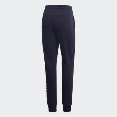 Spodnie Essentials Linear Niebieski