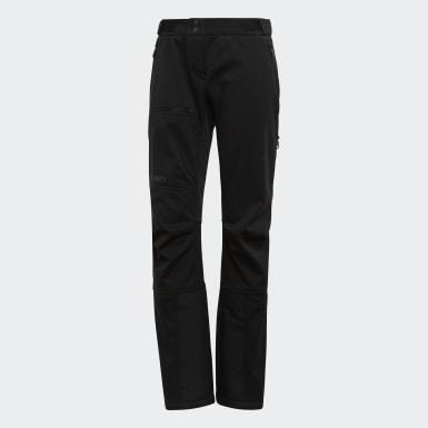 Ženy TERREX černá Kalhoty Ski Tour Soft Shell