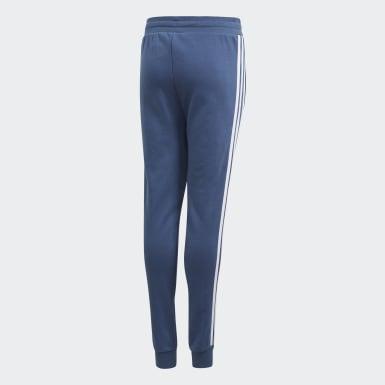 Pants 3 Franjas Azul Niño Originals