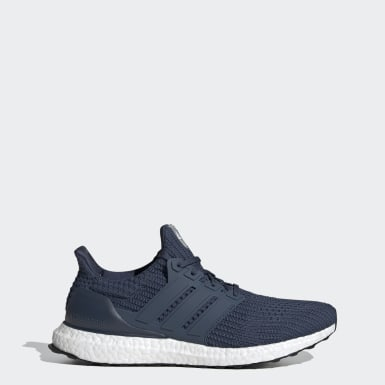 Men Running Blue Ultraboost 4.0 DNA Shoes