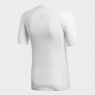 T-shirt Alphaskin Sport Blanc Hommes Cyclisme