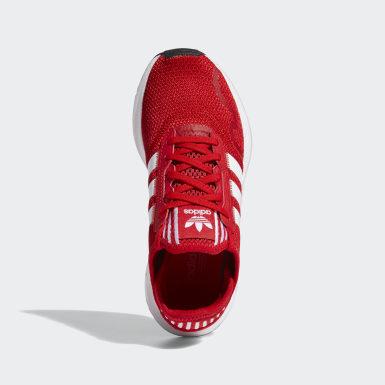 Sapatos Swift Run X Vermelho Criança Originals