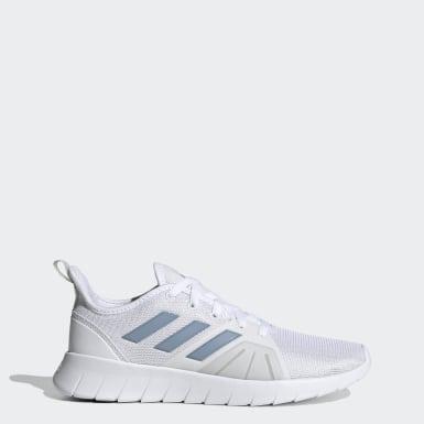 Women Running White ASWEEMOVE Shoes