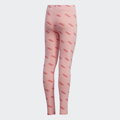 Mädchen Athletics Favorites Leggings Rosa