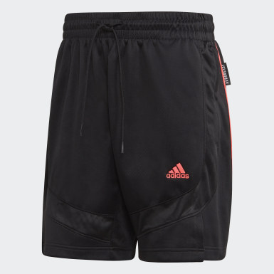 Men Basketball Black Emoji Shorts