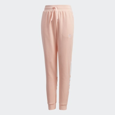 Youth Originals Pink Large Trefoil Pants