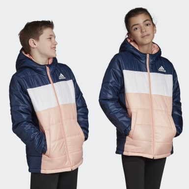Kids Training Blue Padded Jacket