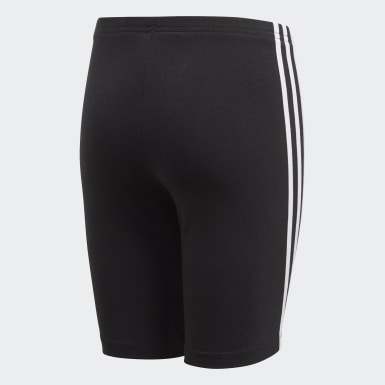 Youth 8-16 Years Originals Black Cycling Shorts