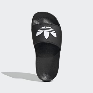 Děti Originals černá Pantofle Adilette Lite