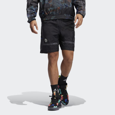 Men Basketball Black Harden Swagger Shorts