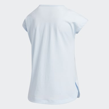 Children Training Blue Dolman Tee