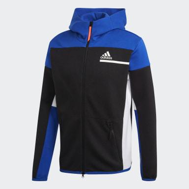 Men's Athletics Black adidas Z.N.E. Full-Zip Hoodie