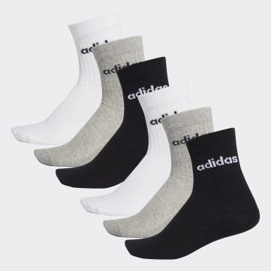 Training HC Crew Socken, 6 Paar Schwarz