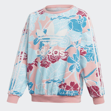 Kids Originals Pink Crew Sweatshirt