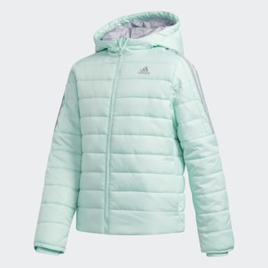 Girls Training Turquoise Classic Puffer Jacket