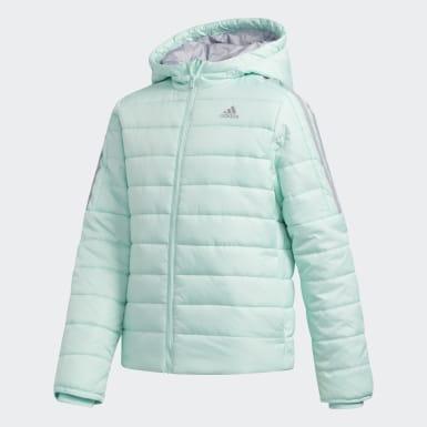 Kvinder Træning Türkis Classic Puffer jakke