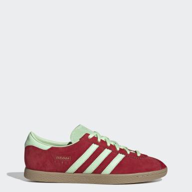 Sapatos Stadt Vermelho Mulher Originals