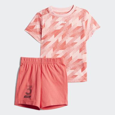 розовый Комплект: футболка и шорты I TC SS SET