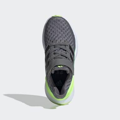 Chaussure RapidaRun gris Enfants Course
