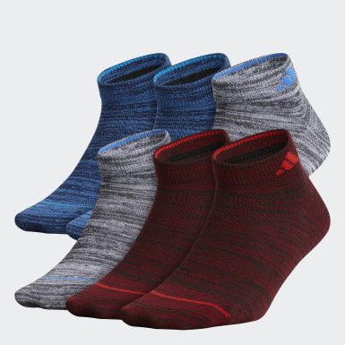 Children Training Multicolor Superlite Low-Cut Socks 6 Pairs