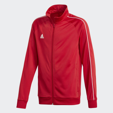 Youth 8-16 Years Training Red Core 18 Track Top
