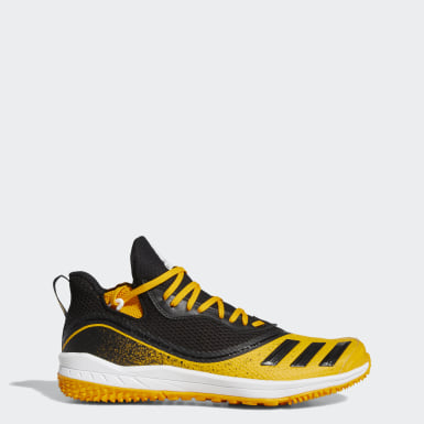 Men's Baseball Yellow Icon V Turf Shoes