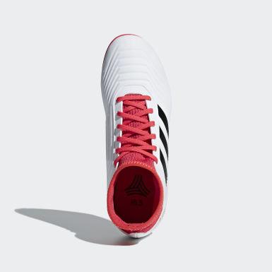 Calzado Predator Tango 18.3 Turf Blanco Niño Fútbol
