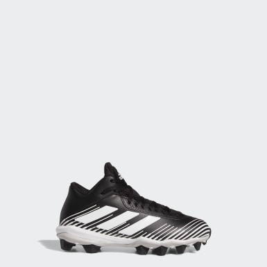 Children Football Black Freak MD Cleats