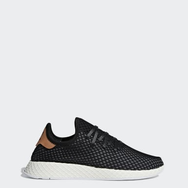 Men Originals Black Deerupt Runner Shoes