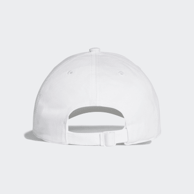 Training White Classic Six-Panel Cap