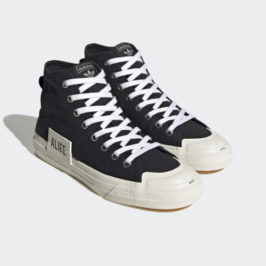 Men Originals Black Nizza Hi Alife Shoes