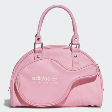Women Originals Pink Lotta Volkova Racket Bag