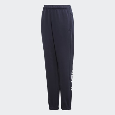 Boys Træning Blå Essentials Linear bukser