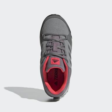 серый Детские кроссовки для хайкинга Terrex Hyperhiker Low Leather