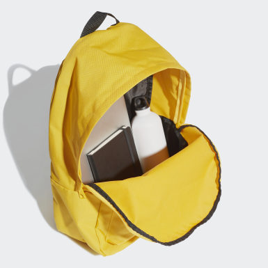 Training Yellow Classic Big Logo Backpack
