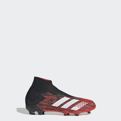 Boys Fotboll Svart Predator Mutator 20+ Firm Ground Boots