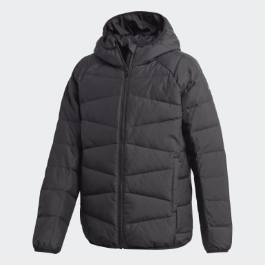 Youth 8-16 Years Training Black Frosty Jacket