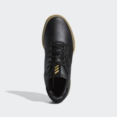 Kinderen Golf Zwart Adicross Retro Schoenen
