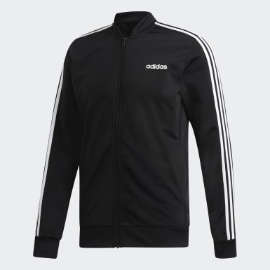 Men Athletics Black 3-Stripes Tracksuit